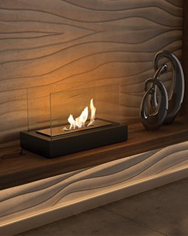 Mini fireplaces